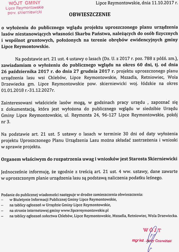 Gmina Lipce Reymontowskie